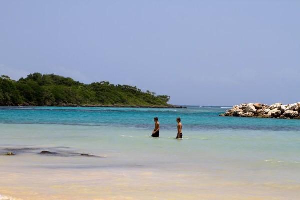 Jamaica ocean beach