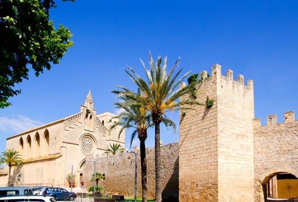 Alcudia Sant Jaume church