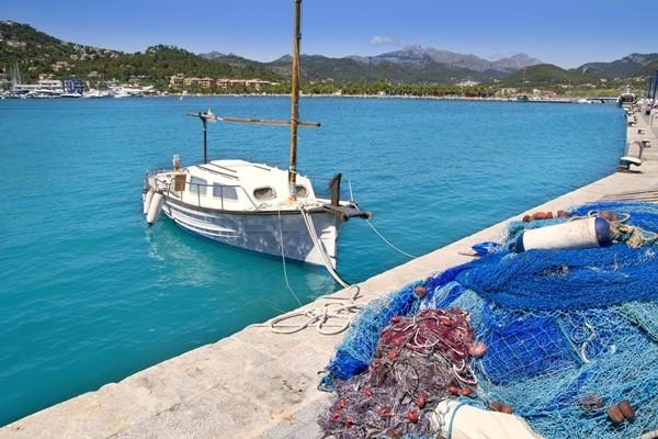 Andratx port marina in Mallorca