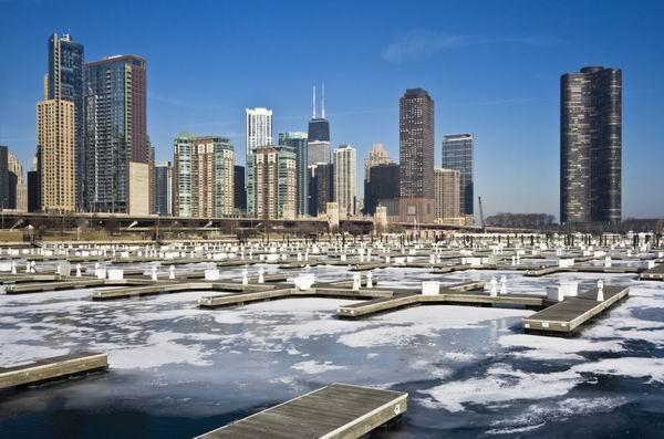 Chicago, winter