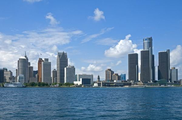 Detroit downtown