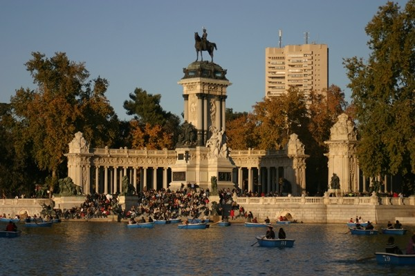 Madrid Park of Buen Retiro