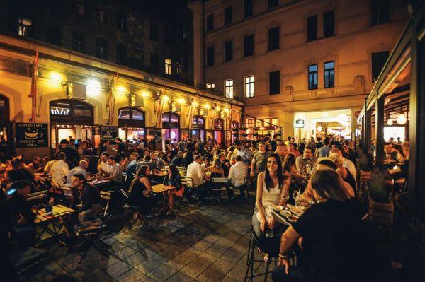Gozsdu Passage Budapest